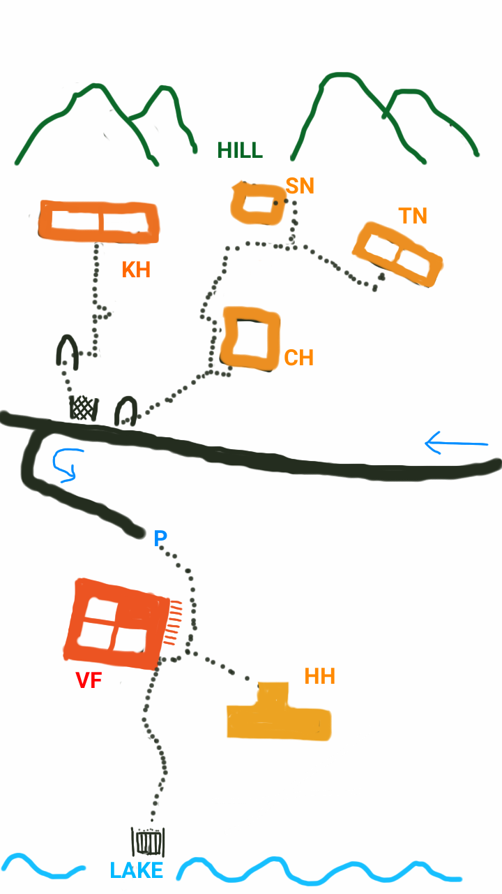 double dutch layout of the grounds